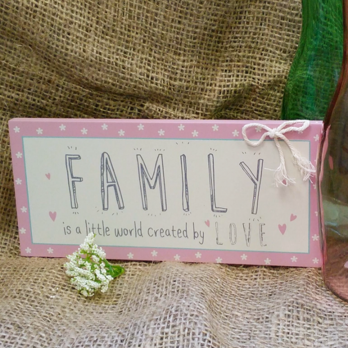 under £5 FAMILY is a little world created by LOVE